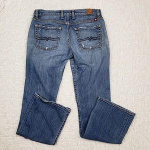 Lucky Brand Cumberland Sweet N Low Boot Cut Jeans